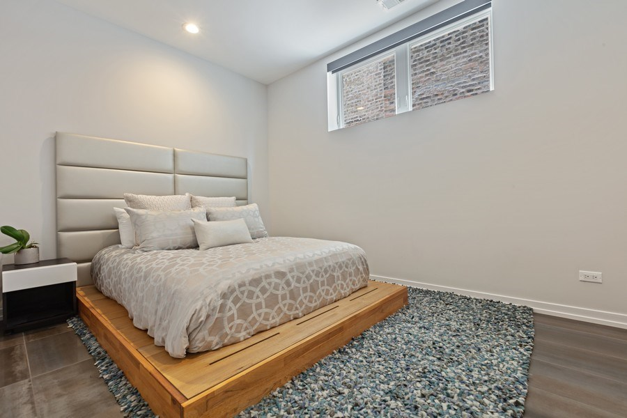 Real Estate Photography - 842 N Campbell Ave, Unit 1S, Chicago, IL, 60622 - 2nd Bedroom