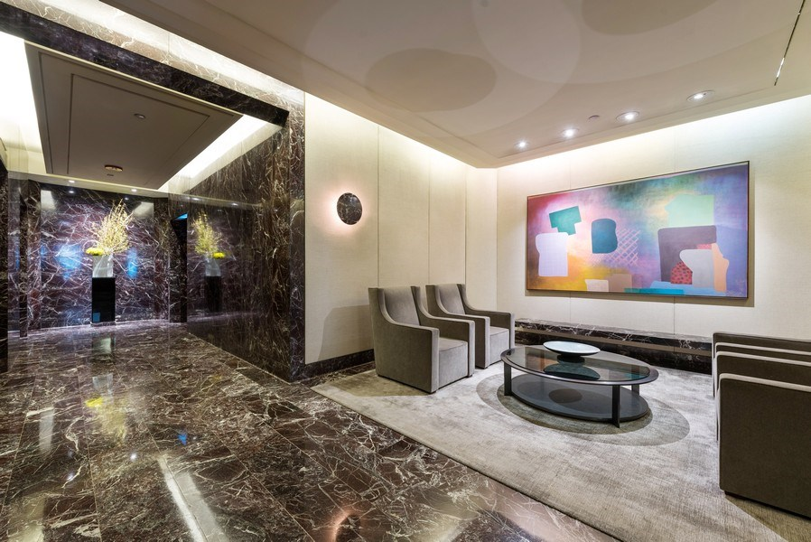 Real Estate Photography - 950 N Michigan Ave, Unit 4203, Chicago, IL, 60611 - Lobby