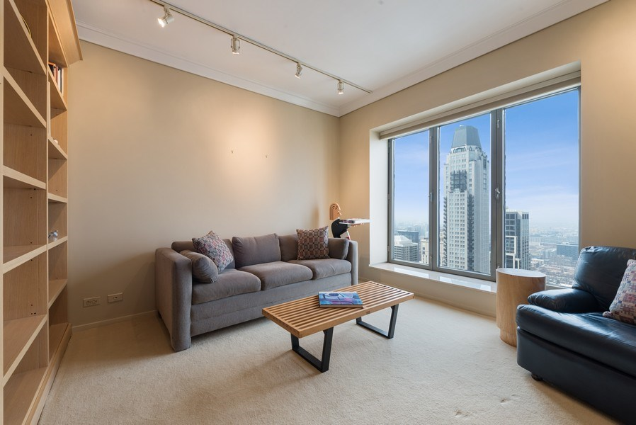 Real Estate Photography - 950 N Michigan Ave, Unit 4203, Chicago, IL, 60611 - 3rd Bedroom