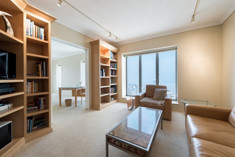 Real Estate Photography - 950 N Michigan Ave, Unit 4203, Chicago, IL, 60611 - 2nd Bedroom