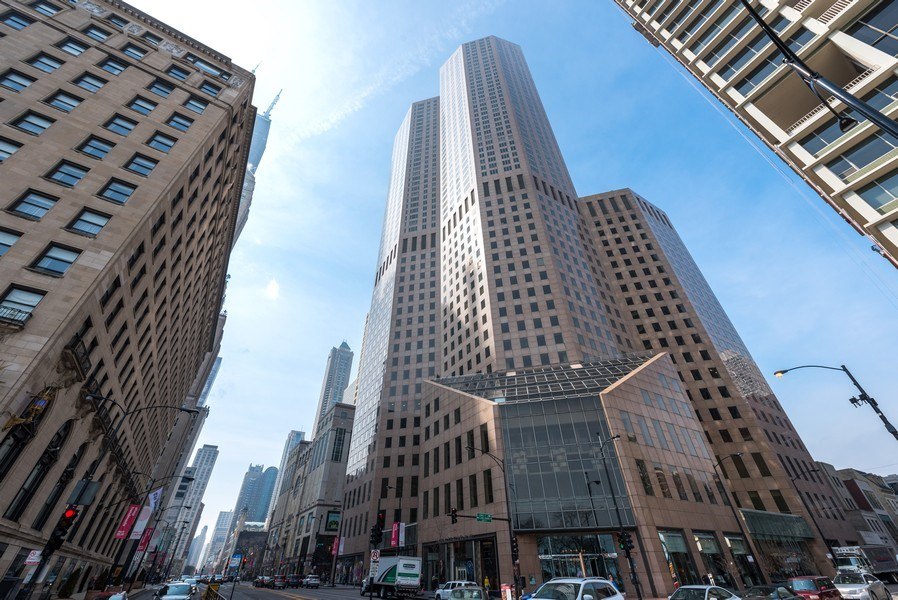 Real Estate Photography - 950 N Michigan Ave, Unit 4203, Chicago, IL, 60611 - Front View