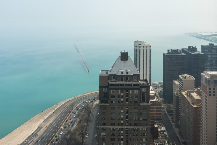 Real Estate Photography - 950 N Michigan Ave, Unit 4203, Chicago, IL, 60611 - Lake View