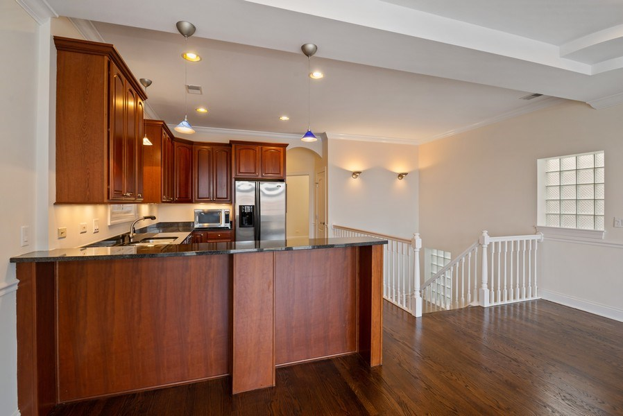 Real Estate Photography - 3333 N Seminary, Unit 3, Chicago, IL, 60657 - Kitchen