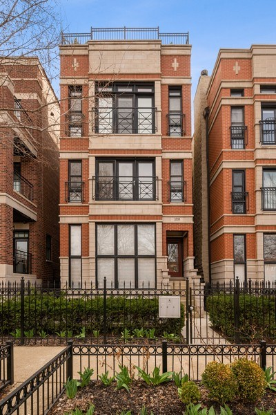 Real Estate Photography - 3333 N Seminary, Unit 3, Chicago, IL, 60657 - Front View