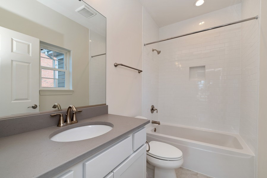 Real Estate Photography - 4135 N Hampton, Glenview, IL, 60025 - 3rd Bathroom