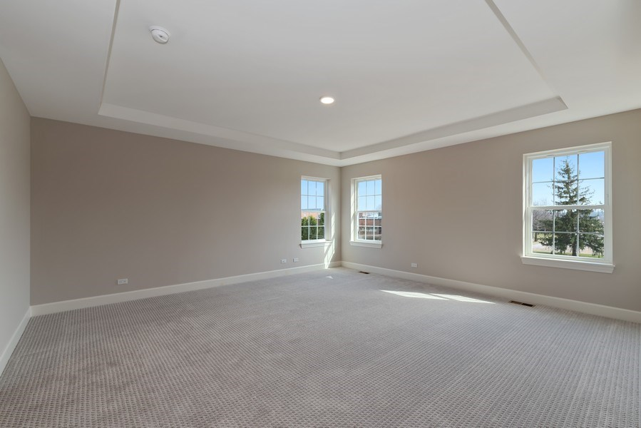 Real Estate Photography - 4135 N Hampton, Glenview, IL, 60025 - Master Bedroom