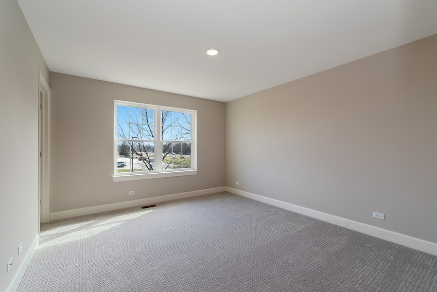 Real Estate Photography - 4135 N Hampton, Glenview, IL, 60025 - 3rd Bedroom