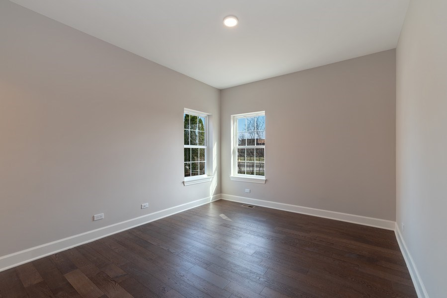 Real Estate Photography - 4135 N Hampton, Glenview, IL, 60025 - 5th Bedroom