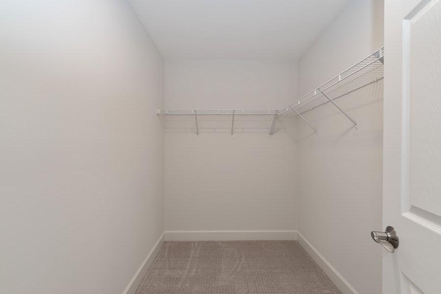 Real Estate Photography - 4135 N Hampton, Glenview, IL, 60025 - Master Bedroom closet