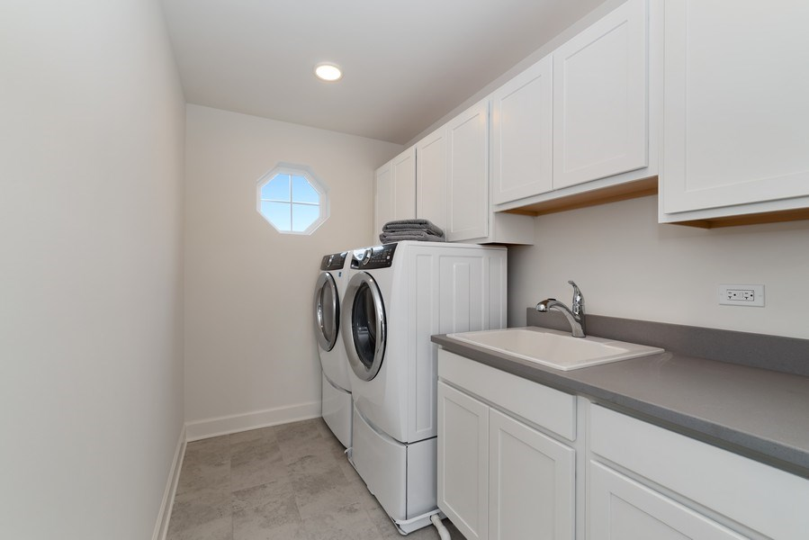 Real Estate Photography - 4135 N Hampton, Glenview, IL, 60025 - Laundry Room