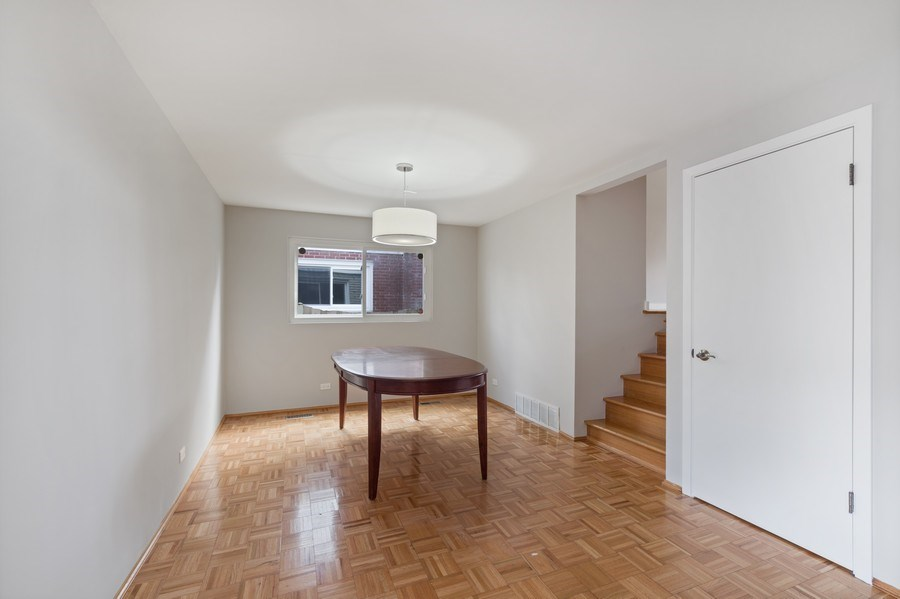 Real Estate Photography - 1727 N Windsor Drive, Arlington Heights, IL, 60004 - Dining Room