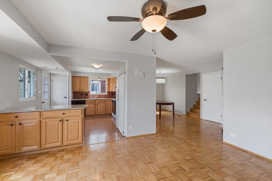 Real Estate Photography - 1727 N Windsor Drive, Arlington Heights, IL, 60004 - Family Room / Dining Room