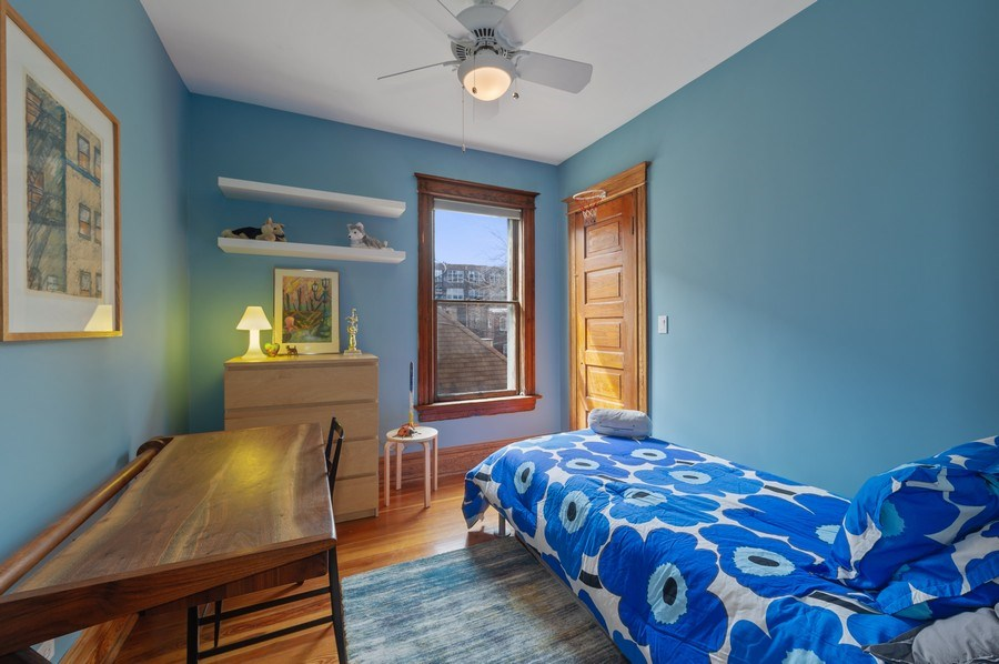 Real Estate Photography - 4020 N Hermitage Ave, Chicago, IL, 60613 - 3rd Bedroom