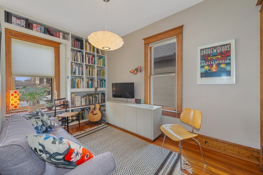 Real Estate Photography - 4020 N Hermitage Ave, Chicago, IL, 60613 - 4th Bedroom