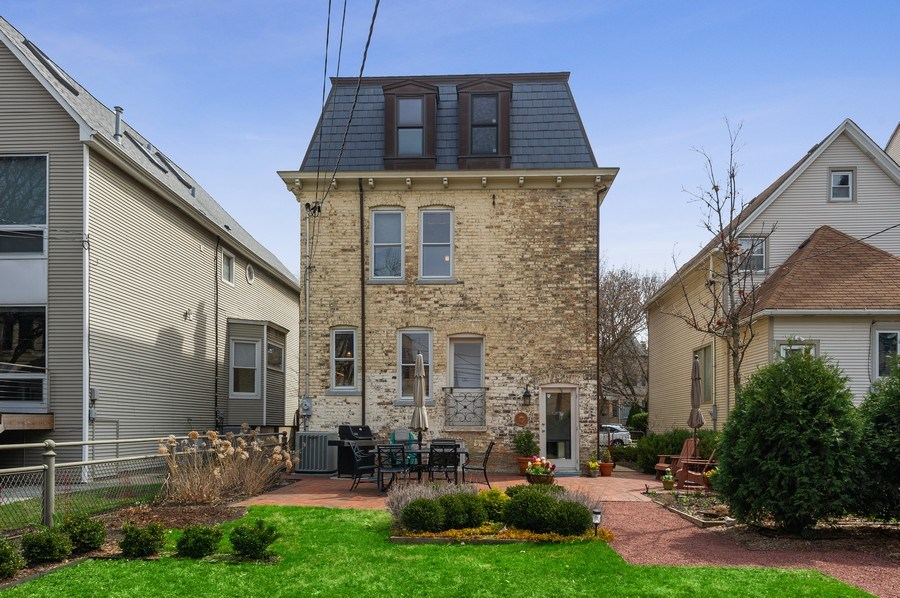 Real Estate Photography - 4020 N Hermitage Ave, Chicago, IL, 60613 - Rear View