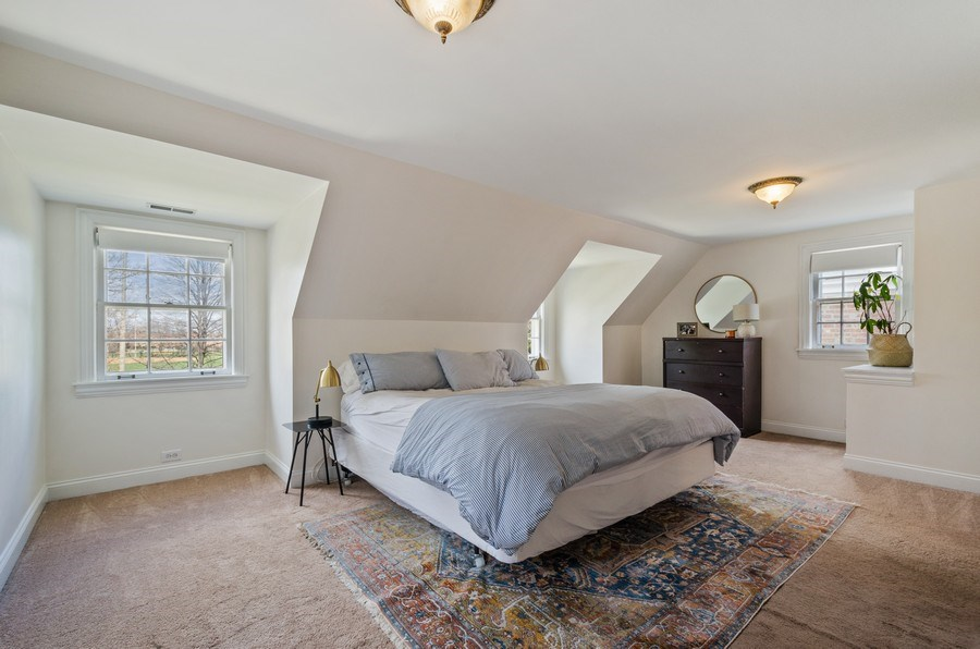 Real Estate Photography - 7555 W Isham, Chicago, IL, 60631 - Master Bedroom