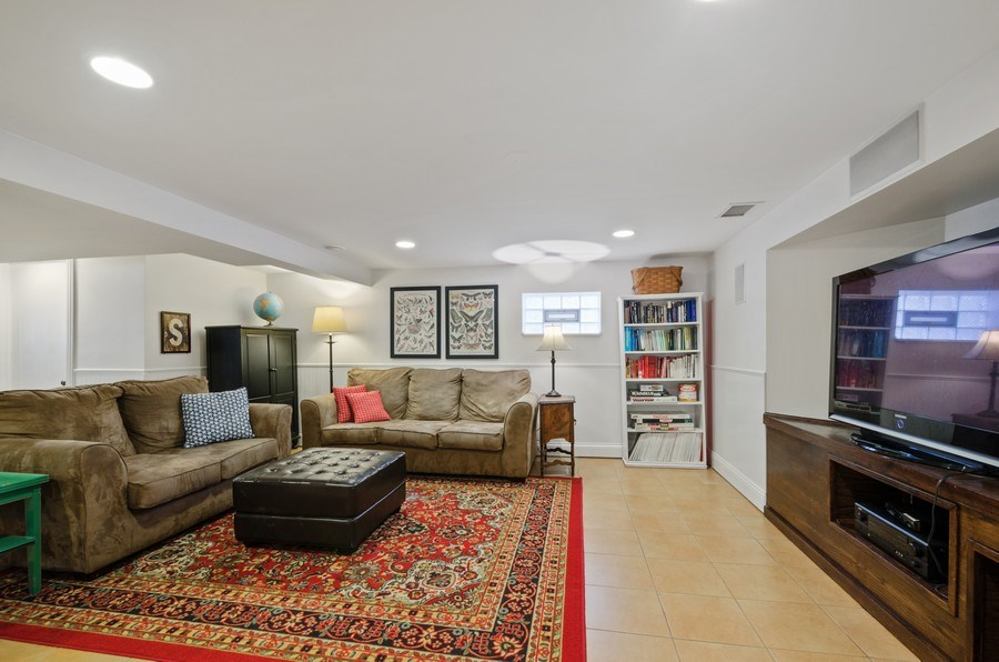 Real Estate Photography - 7555 W Isham, Chicago, IL, 60631 - Recreational Room