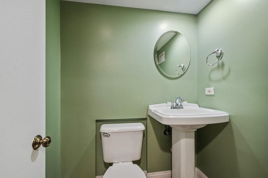 Real Estate Photography - 7555 W Isham, Chicago, IL, 60631 - Powder Room
