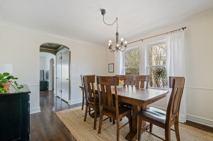 Real Estate Photography - 7555 W Isham, Chicago, IL, 60631 - Dining Room