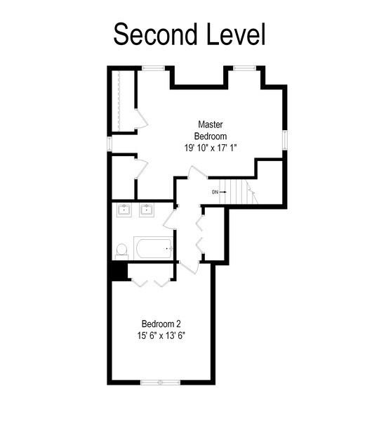 Real Estate Photography - 7555 W Isham, Chicago, IL, 60631 - Floor Plan