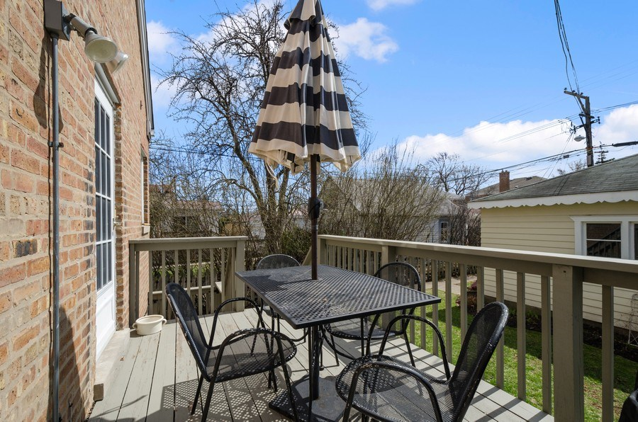 Real Estate Photography - 7555 W Isham, Chicago, IL, 60631 - Deck