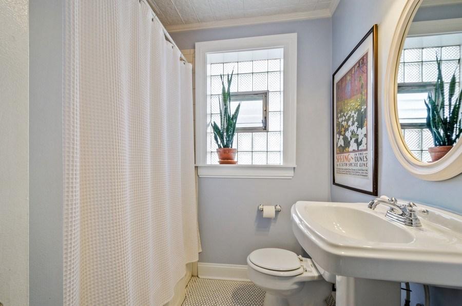 Real Estate Photography - 7555 W Isham, Chicago, IL, 60631 - 2nd Bathroom