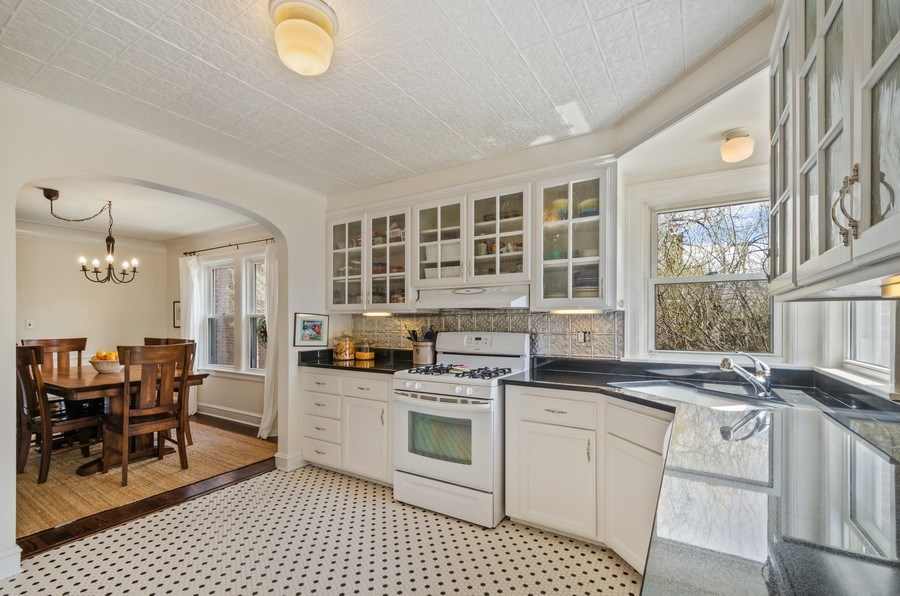 Real Estate Photography - 7555 W Isham, Chicago, IL, 60631 - Kitchen / Dining Room
