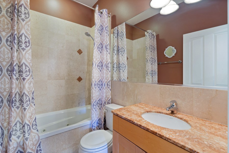 Real Estate Photography - 2115 W. Chicago, 3, Chicago, IL, 60622 - Master Bathroom