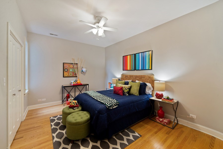 Real Estate Photography - 2115 W. Chicago, 3, Chicago, IL, 60622 - Bedroom