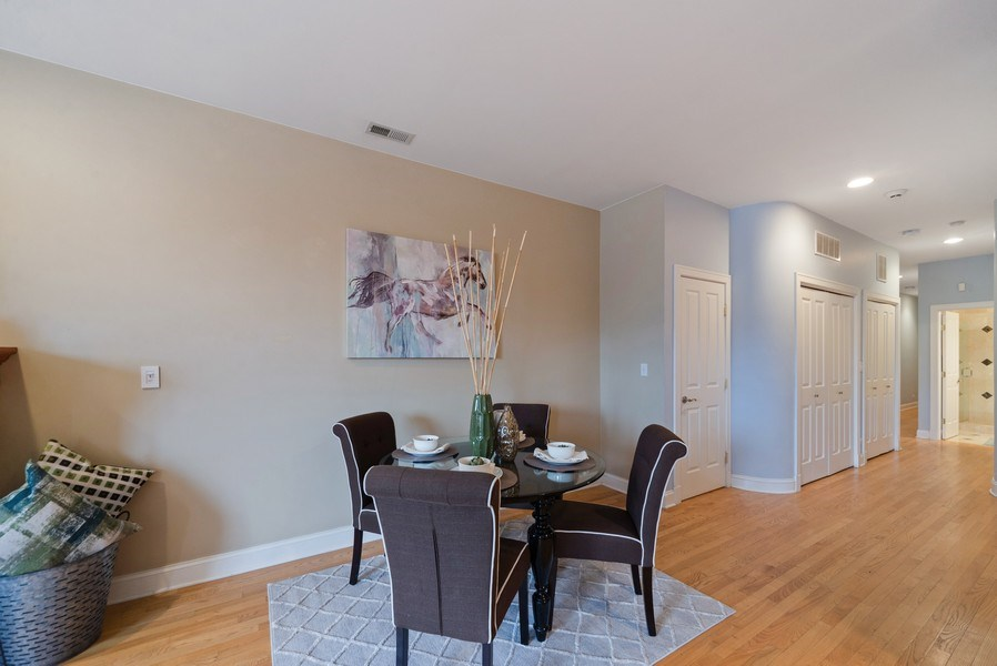 Real Estate Photography - 2115 W. Chicago, 3, Chicago, IL, 60622 - Dining Room