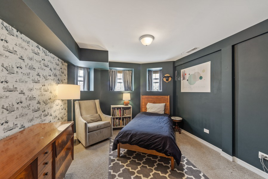 Real Estate Photography - 3215 W. Altgeld, 1E, Chicago, IL, 60647 - Second Bedroom