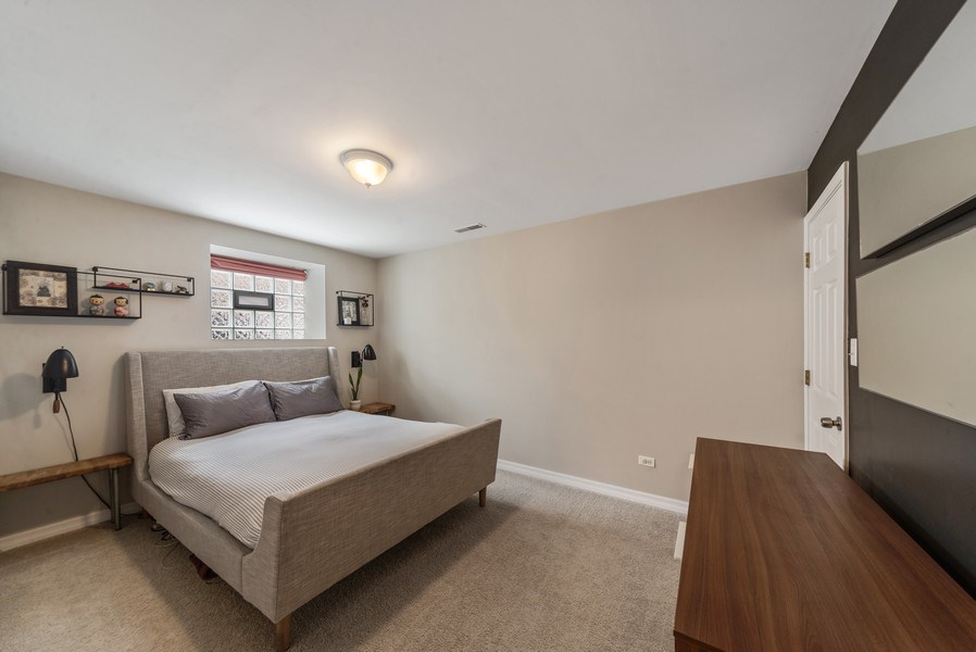 Real Estate Photography - 3215 W. Altgeld, 1E, Chicago, IL, 60647 - Master Bedroom