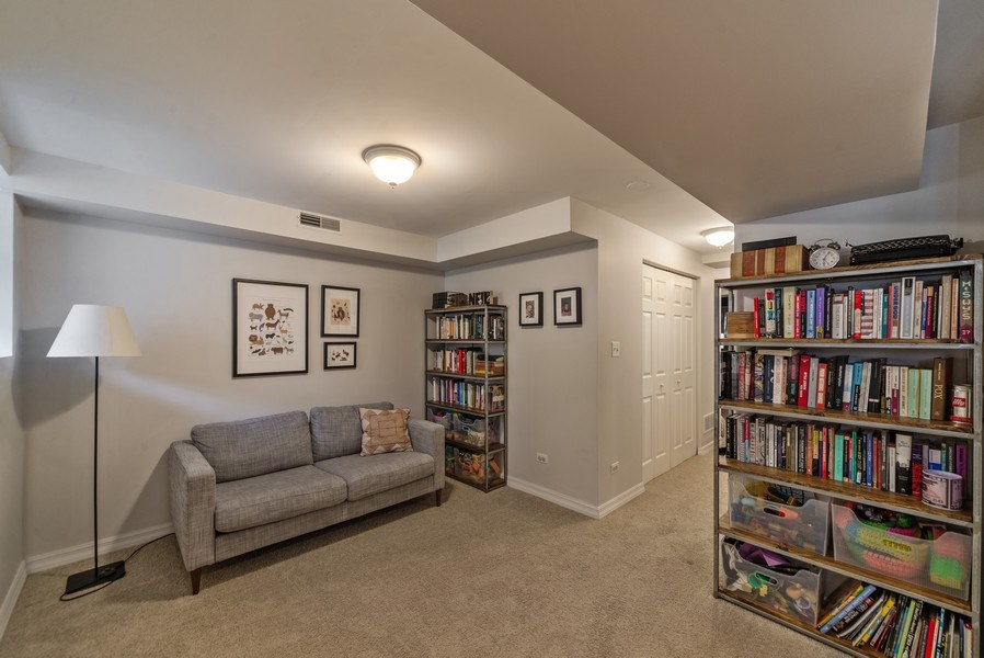 Real Estate Photography - 3215 W. Altgeld, 1E, Chicago, IL, 60647 - Family Room
