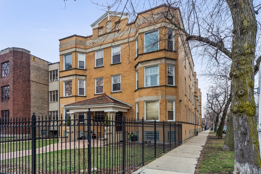 Real Estate Photography - 3215 W. Altgeld, 1E, Chicago, IL, 60647 - Front View