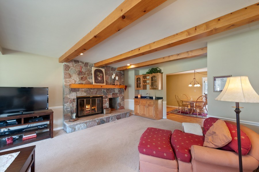 Real Estate Photography - 2535 Countryside Dr, Delavan, WI, 53115 - Family Room
