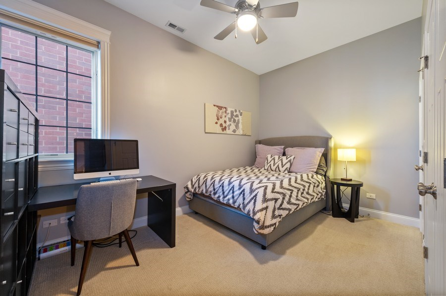 Real Estate Photography - 3203 N. Oakley, #301, Chicago, IL, 60618 - Second Bedroom