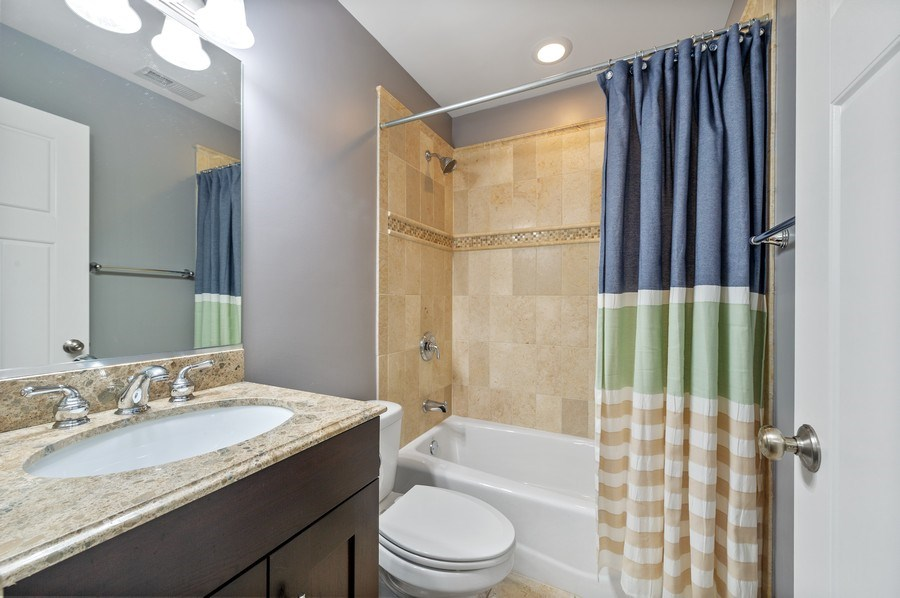 Real Estate Photography - 3203 N. Oakley, #301, Chicago, IL, 60618 - Second Bathroom