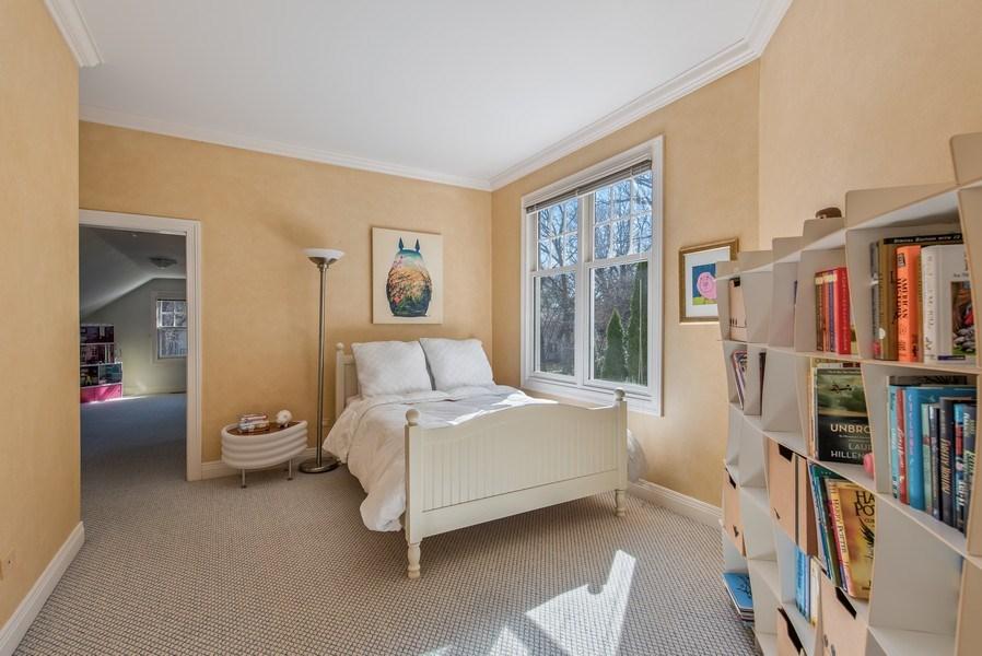 Real Estate Photography - 1443 Asbury Avenue, Winnetka, IL, 60093 - 4th Bedroom