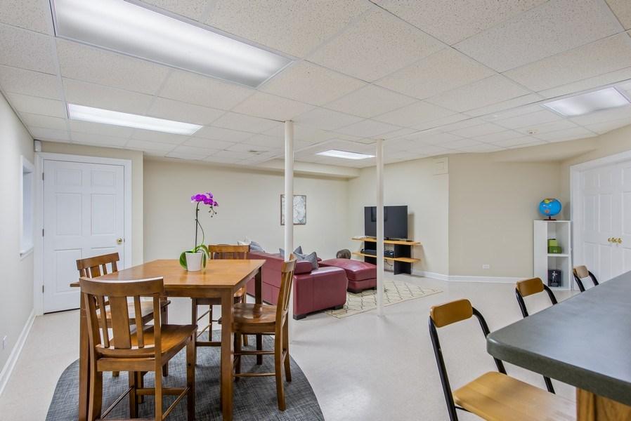 Real Estate Photography - 1443 Asbury Avenue, Winnetka, IL, 60093 - Lower Level