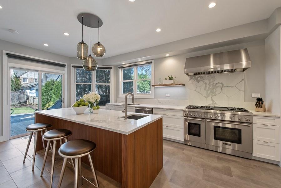Real Estate Photography - 1443 Asbury Avenue, Winnetka, IL, 60093 - Kitchen