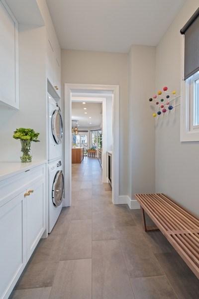 Real Estate Photography - 1443 Asbury Avenue, Winnetka, IL, 60093 - Mudroom