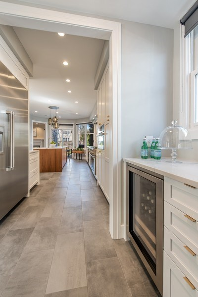 Real Estate Photography - 1443 Asbury Avenue, Winnetka, IL, 60093 - Butler's pantry