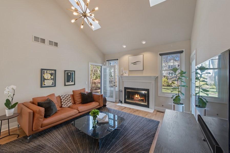 Real Estate Photography - 1443 Asbury Avenue, Winnetka, IL, 60093 - Family Room