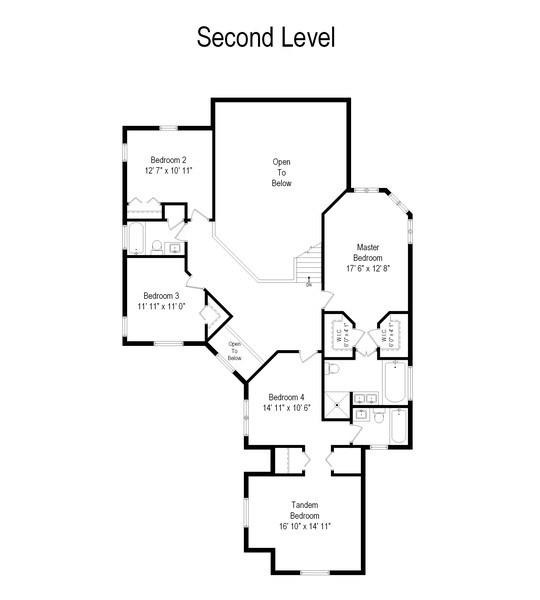 Real Estate Photography - 1443 Asbury Avenue, Winnetka, IL, 60093 - Second Level