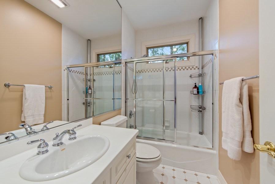 Real Estate Photography - 1443 Asbury Avenue, Winnetka, IL, 60093 - 2nd Bathroom