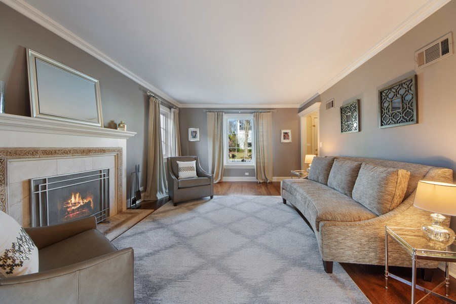Real Estate Photography - 641 S Bristol, Arlington Heights, IL, 60005 - Living Room