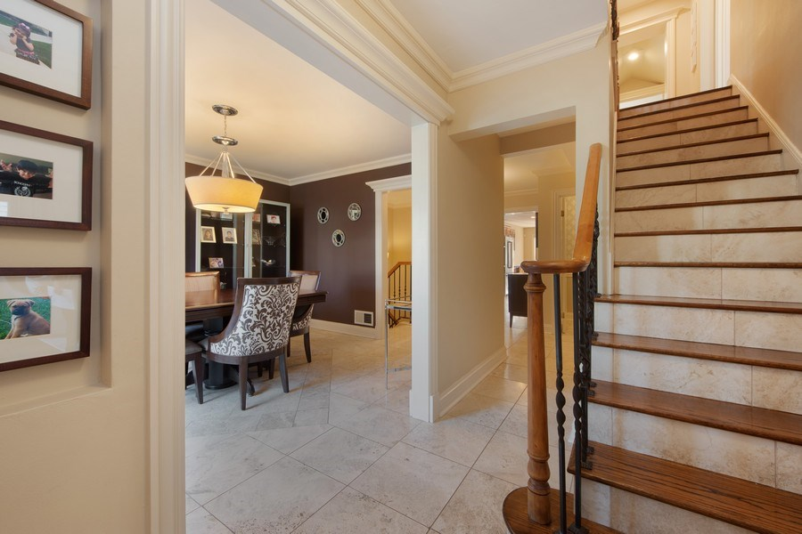 Real Estate Photography - 641 S Bristol, Arlington Heights, IL, 60005 - Foyer/Dining Room