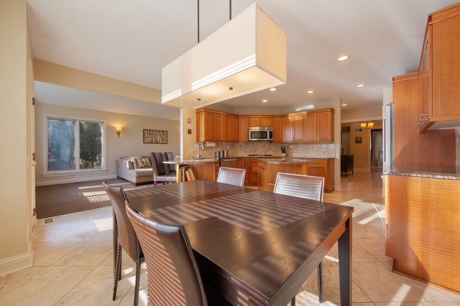 Real Estate Photography - 641 S Bristol, Arlington Heights, IL, 60005 - Kitchen / Breakfast Room