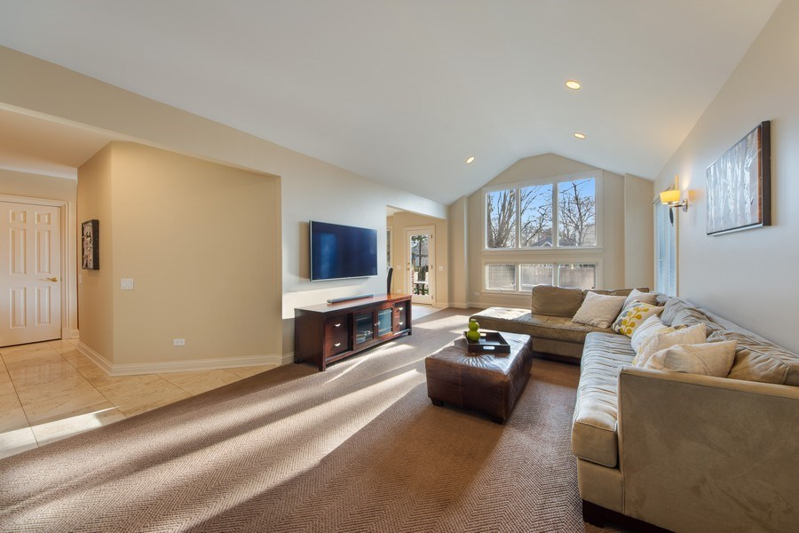 Real Estate Photography - 641 S Bristol, Arlington Heights, IL, 60005 - Family Room