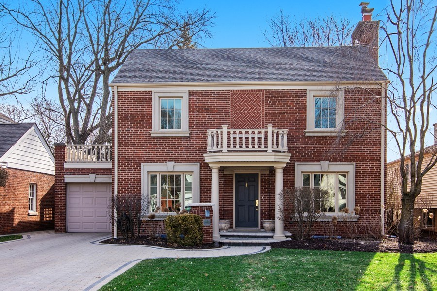 Real Estate Photography - 641 S Bristol, Arlington Heights, IL, 60005 - Front View
